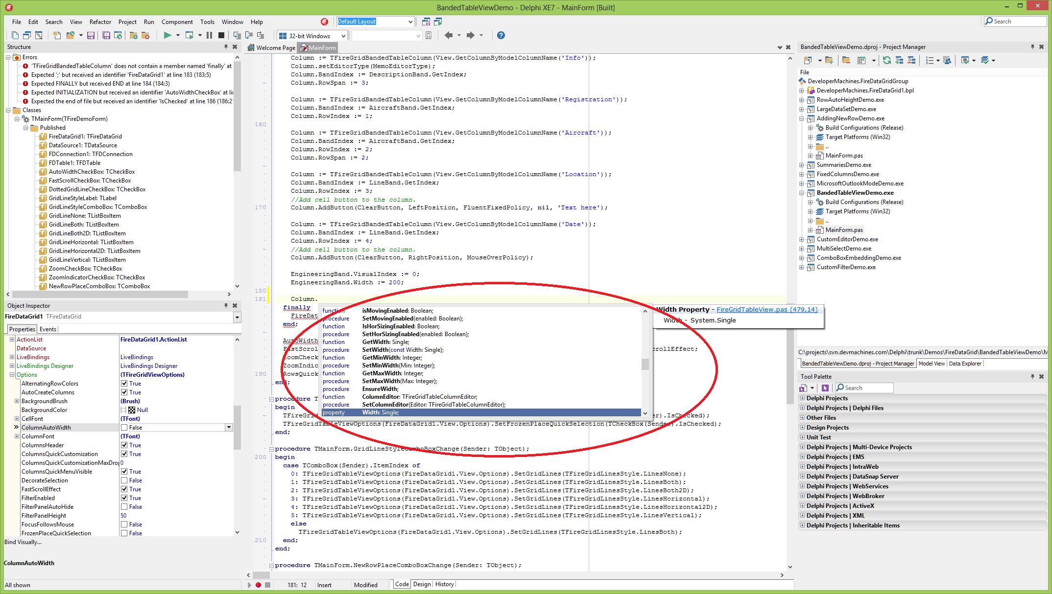 Designing Gridview at runtime - Developer Machines